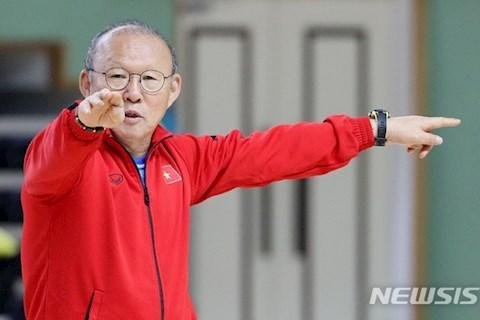 HLV Park Hang Seo lên kế hoạch đối phó thời tiết tại Thái Lan hình ảnh