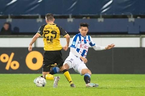 Heerenveen 1-1 Heracles Văn Hậu dự bị trong ngày Heerenveen phải chia điểm trên sân nhà hình ảnh 2