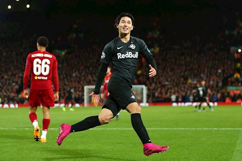 Takumi Minamino: Mon hoi lon cua Liverpool-Klopp