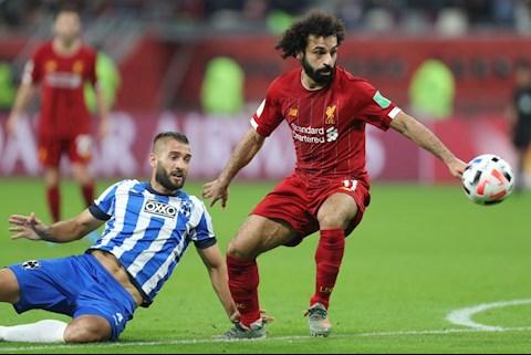 Liverpool 2-1 Monterrey: Mohamed Salah