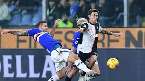 Sampdoria 1-2 Juventus Ronaldo lập siêu phẩm, Lão bà bảo vệ ngôi đầu hình ảnh 3
