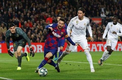 Barca vs Real Messi