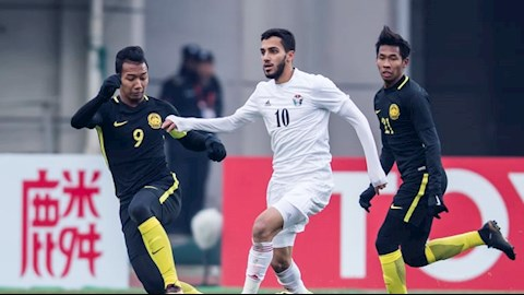 Musa Al-Taamari (so 10) la guong mat nguy hiem nhat ben phia U23 Jordan