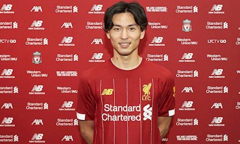 Takumi Minamino gia nhap Liverpool.