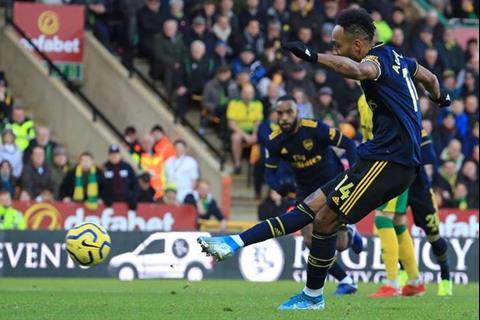 5 điểm nhấn trong ngày Auba giúp Arsenal thoát thua trước Norwich hình ảnh 2