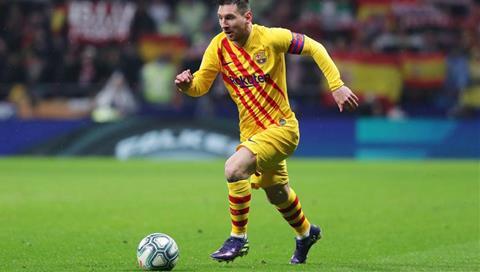 Atletico Madrid 0-1 Barca Messi tỏa sáng muộn màng, nhà ĐKVĐ trở lại ngôi đầu hình ảnh 2