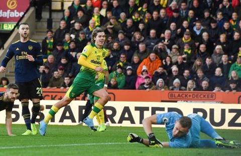 Dư âm Norwich 2-2 Arsenal HLV mới, thảm cảnh cũ hình ảnh