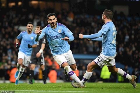 Man City 3-1 Leicester HLV Pep Guardiola thách thức Liverpool hình ảnh