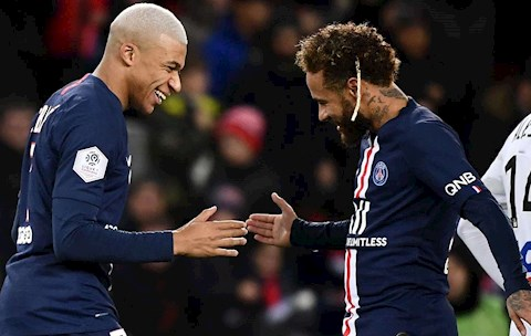Neymar va Mbappe