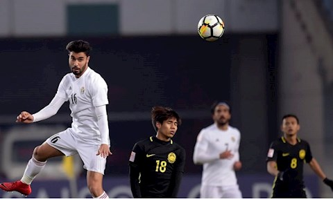 U23 Jordan rat manh o kha nang khong chien