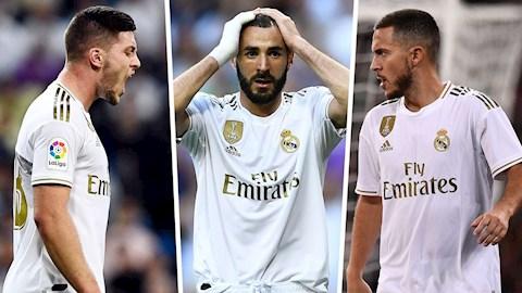 Real liên tục tịt ngòi, HLV Zidane vẫn quyết không mua tiền đạo hình ảnh
