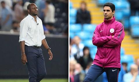 Bất ngờ Patrick Vieira từ chối dẫn dắt Arsenal hình ảnh