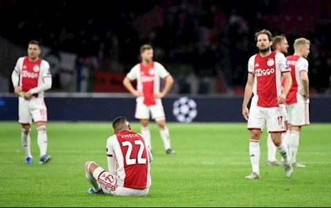 Ajax bật bãi Châu Âu Nuối tiếc nhưng đích đáng hình ảnh 2
