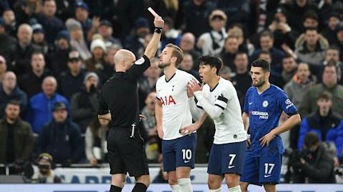Thẻ đỏ của Son Heung-min trước Chelsea được FA xử lý thế nào hình ảnh