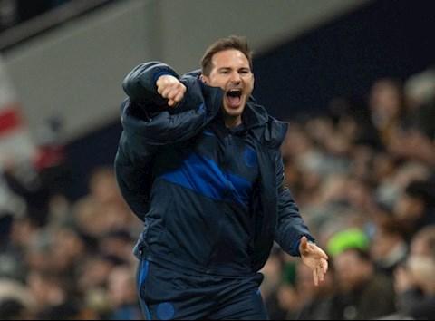 HLV Lampard nói về trận thắng Tottenham hình ảnh