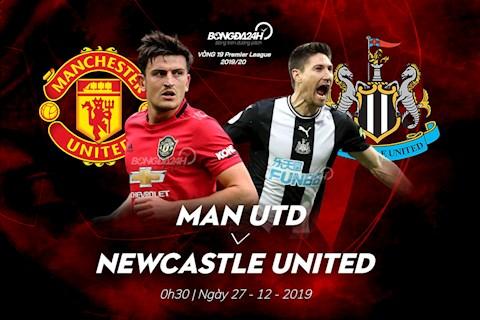 Kết quả MU vs Newcastle bóng đá Premier League 20192020 hình ảnh