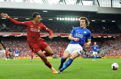 Liverpool vs Leicester Trent Alexander-Arnold