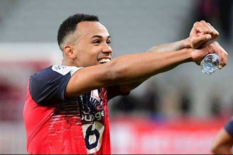 Chi 22 triệu bảng, Arsenal muốn mua Gabriel của Lille hình ảnh
