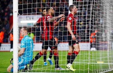 Bournemouth 1-1 Arsenal Gosling ghi ban