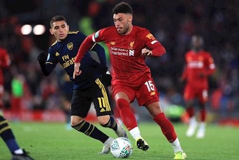 Oxlade-Chamberlain Liverpool vs Arsenal