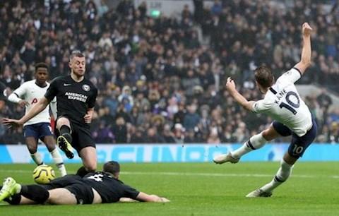 Tottenham vs Brighton Kane ghi ban