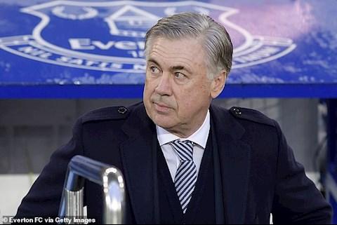 Everton 1-0 Burnley: HLV Carlo Ancelotti