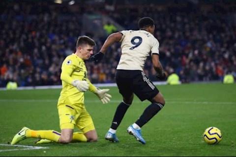Kết quả Burnley vs MU Rashford khen ngợi Martial hình ảnh