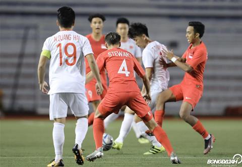 Trực tiếp bóng đá U22 Việt Nam 0-0 U22 Singapore (H2) Nỗ lực kiếm bàn thắng hình ảnh 3