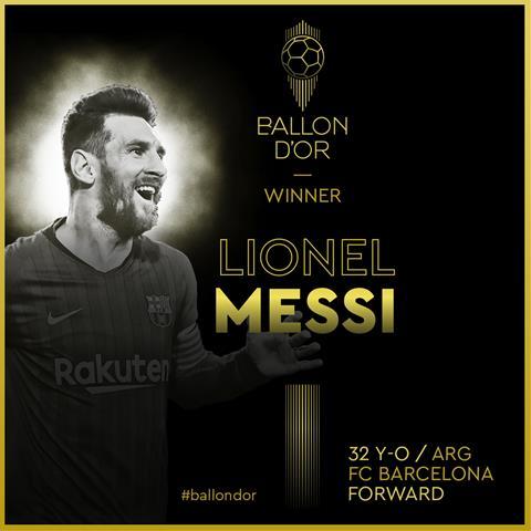Lionel Messi - Qua bong vang 2019