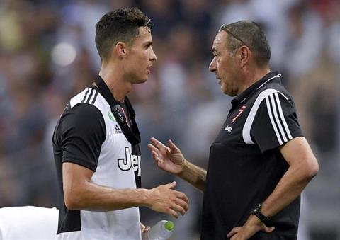 Juventus đang che đậy bất hòa giữa Ronaldo vs Sarri hình ảnh