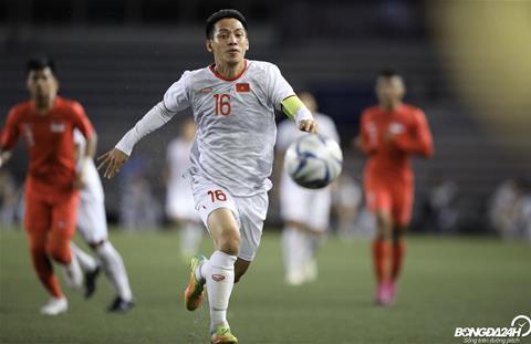 U22 Việt Nam 1-0 U22 Singapore Đức Chinh tỏa sáng, U22 Việt Nam duy trì lợi thế hình ảnh 2