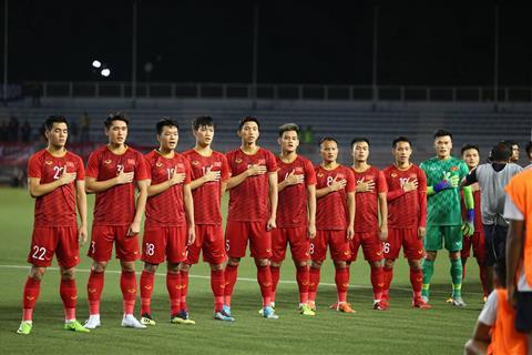 phát sóng U22 Việt Nam vs U22 Singapore 3 12 2019 SEA Games 30 hình ảnh