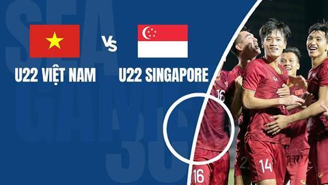 Link xem U22 Việt Nam vs U22 Singapore (312) - SEA Games 30 hình ảnh