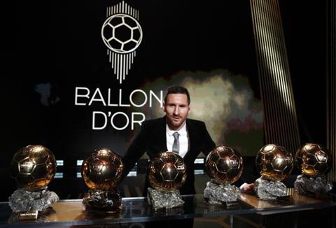 Lionel Messi nói về Quả bóng Vàng thứ 6 trong sự nghiệp hình ảnh