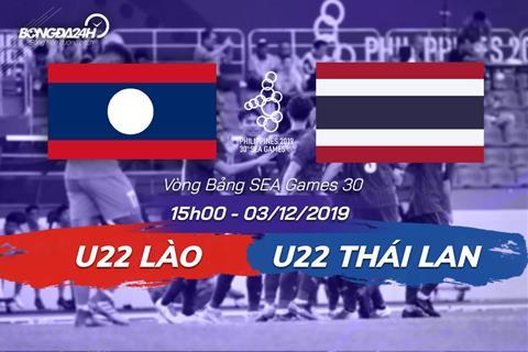 Trực tiếp bóng đá U22 Lào vs U22 Thái Lan 312 SEA Games 30 hình ảnh