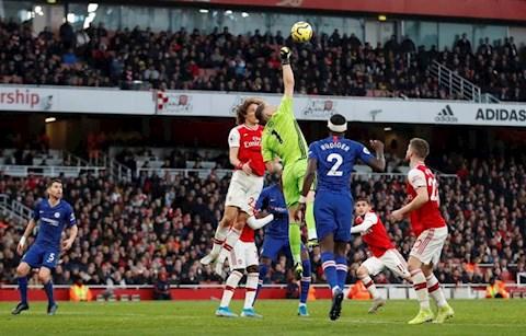 Arsenal 1-2 Chelsea vòng 20 Premier League 201920 hình ảnh
