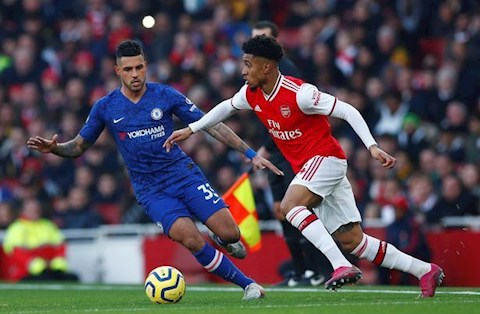 Arsenal 1-2 Chelsea Reiss Nelson
