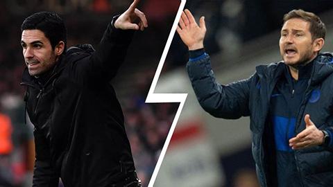 Arteta va Lampard tro lai dan dat CLB cu
