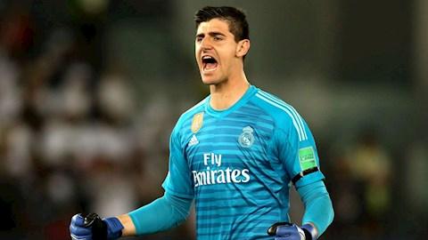 Courtois sướng rơn khi kình địch Navas rời khỏi Real Madrid hình ảnh