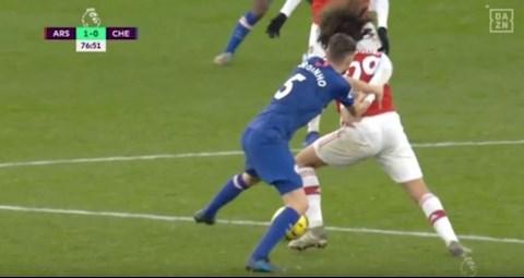 Jorginho nói về trận Arsenal vs Chelsea hình ảnh
