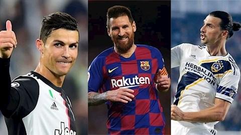 Giải mã phong độ những ông già Zlatan, Messi, Ronaldo (P2)
