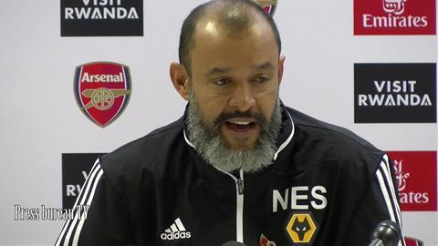 HLV Nuno Santo nói về khả năng dẫn dắt Arsenal hình ảnh
