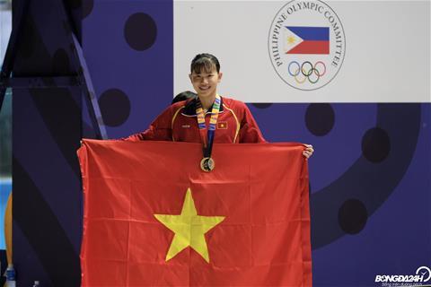 TRỰC TIẾP SEA Games 30 ngày hôm nay 412 Ánh Viên đoạt HCV đầu tiên, Phương Thành lập cú đúp Vàng hình ảnh 2