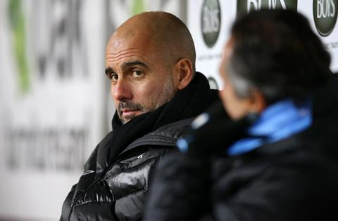 HLV Guardiola cua Man City