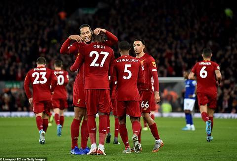 Jurgen Klopp lâng lâng khi Liverpool đại thắng ở derby Merseyside hình ảnh