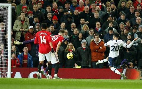Man Utd 2-1 Tottenham Dele Alli ghi ban