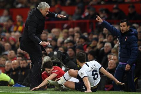 Man Utd 2-1 Tottenham Mourinho