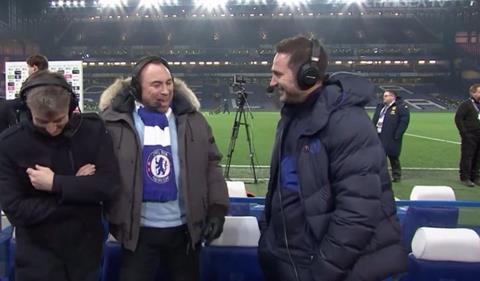 HLV Lampard nói về thất bại của Tottenham trước MU hình ảnh