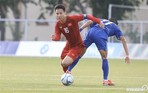 Do Hung Dung - nguoi hung tham lang trong tran U22 Viet Nam vs U22 Thai Lan