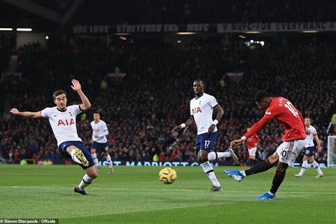 MU 2-1 Tottenham Solskjaer và bài học Rashford cho Mourinho hình ảnh